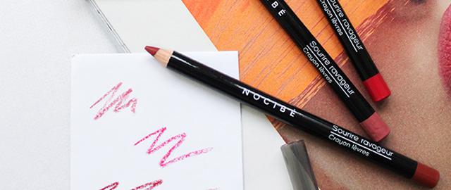Crayon et feutre à Levres