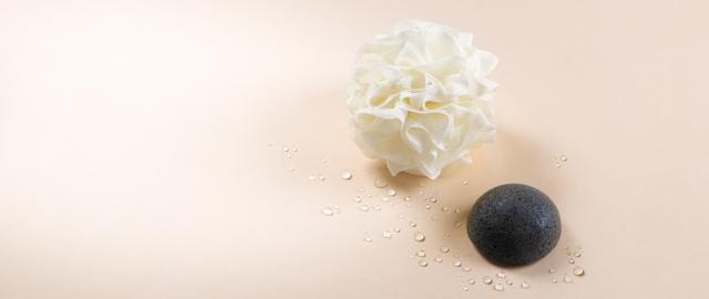 Nocibé Éponge et fleur de douche
