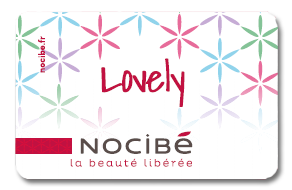 Carte Nocibé Lovely