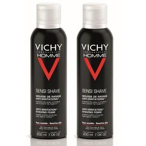 Lot*2 mousse à raser peaux sensiblesRasage et après rasage