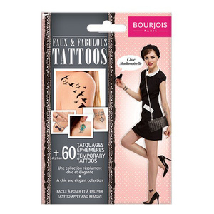 Faux & Fabulous Tattoos <br> Chic Mademoiselle