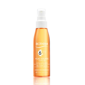 Huile Solaire Soyeuse SPF6