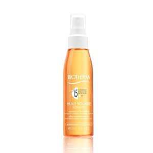 Huile Solaire Soyeuse SPF15