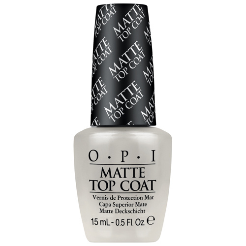O.P.I - Matte Top Coat Vernis de protection mat