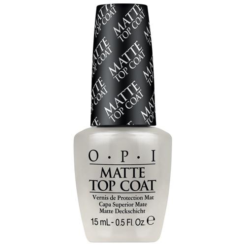O.P.I - Matte Top Coat Vernis de protection mat