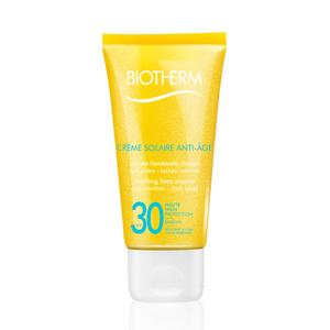 Crème Solaire Visage Anti-âgeSPF30