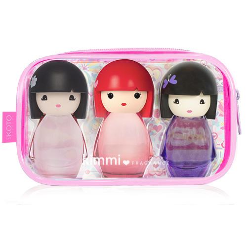 coffret miniatures trousses collection eau de toilette kimmi fragrance kimmi fragrance. Black Bedroom Furniture Sets. Home Design Ideas