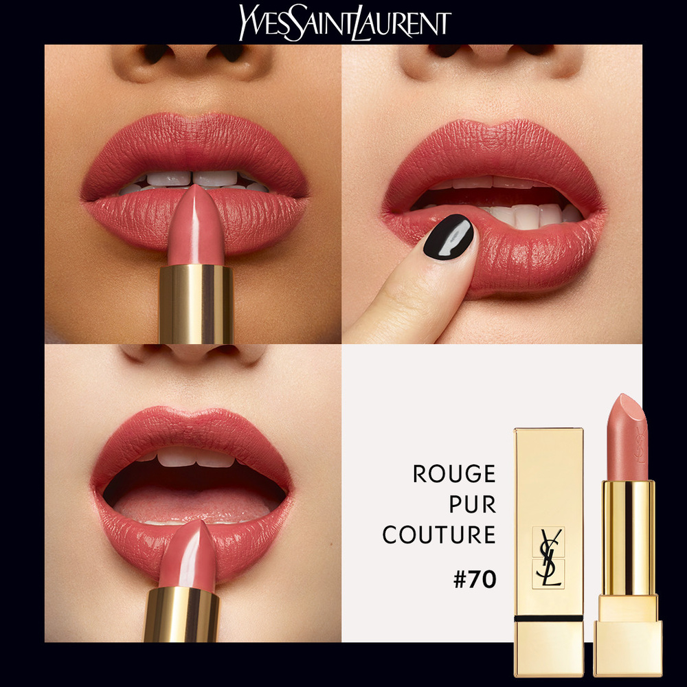 À Lèvres Rouge Pur Iconique Couture Satiné 8wmnNv0