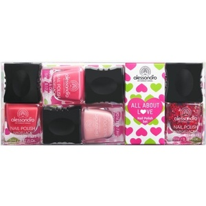 All About LoveSet Minis Vernis
