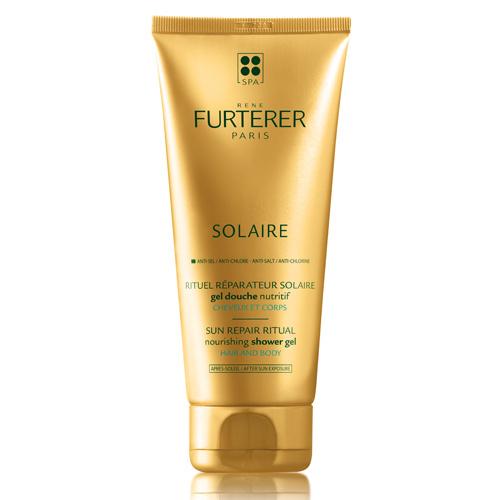 SOLAIRE, cheveux et corps, gel douche nutritif 200 ML