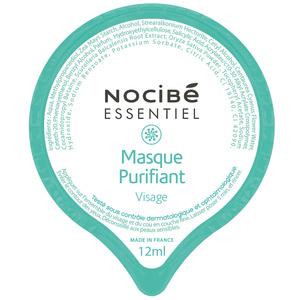 Nocibé Essentiels Masque capsule Purifiant