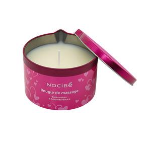 Saint Valentin Humeurs Bougie de massage Baies roses et d'amande douce