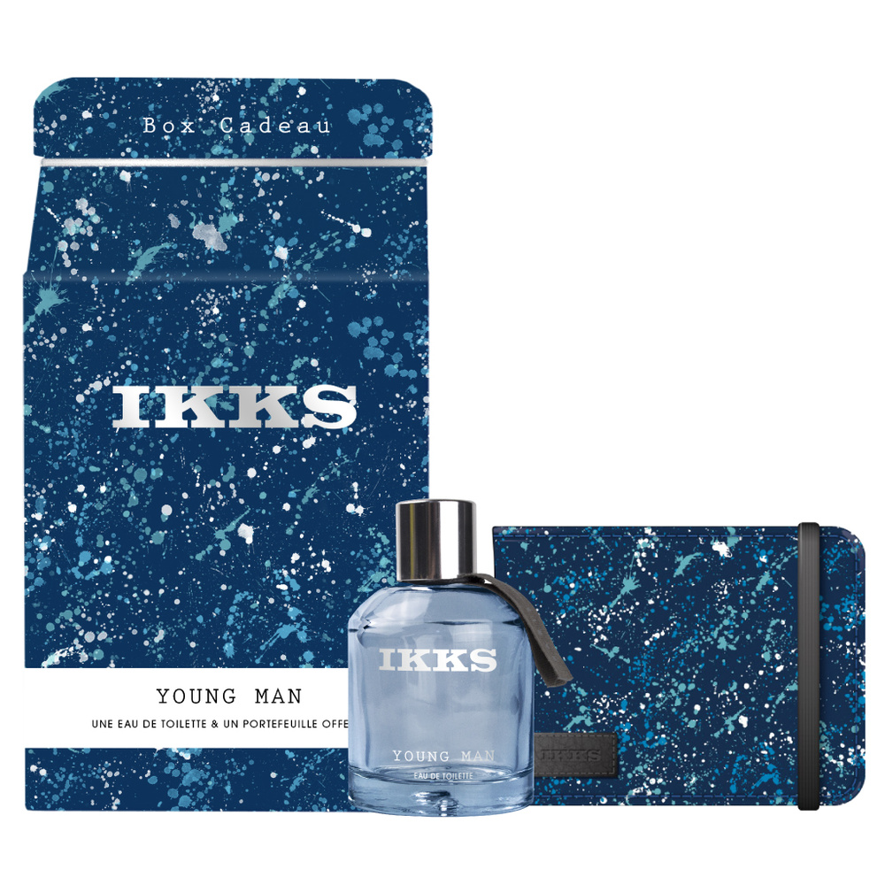 COFFRET IKKS YOUNG MAN
