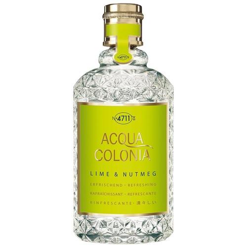 4711 Acqua Colonia Eau de Cologne Citron Vert & Noix de Muscade 170ml