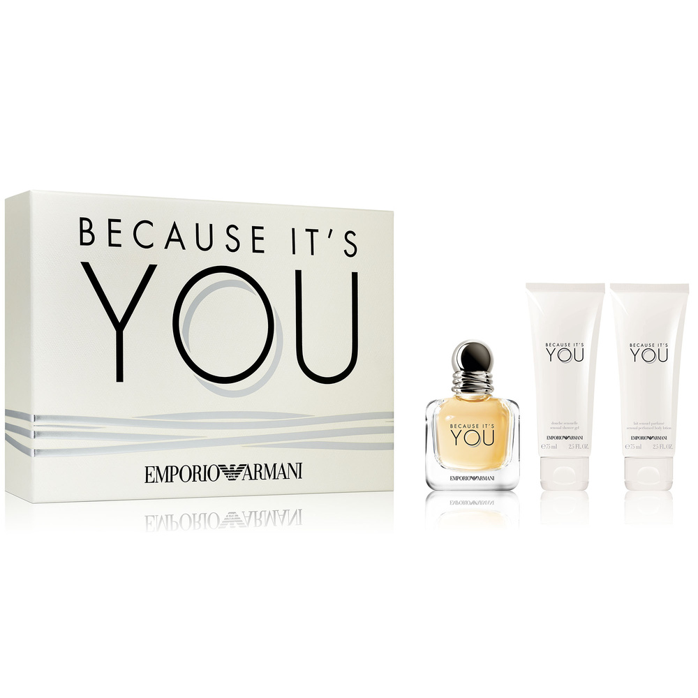 Because Parfum Eau Coffret You It's De 5R4Ljc3Aq