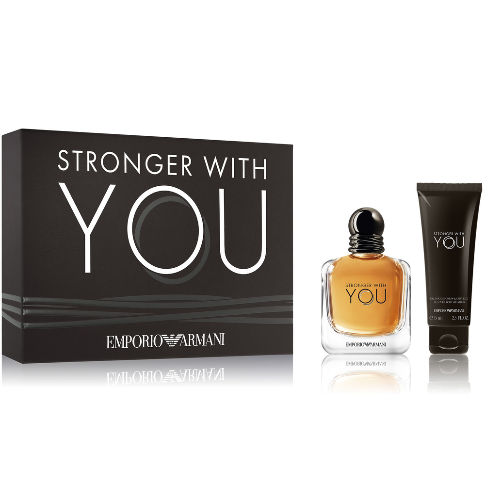 Giorgio Armani Coffret Emporio Stronger With You Eau De Toilette