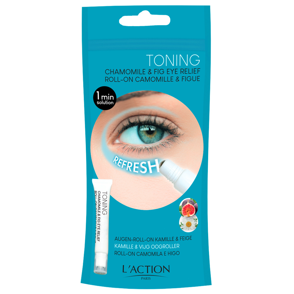 Roll-on camomille et figue Contour des yeux roll-on camomille et figue