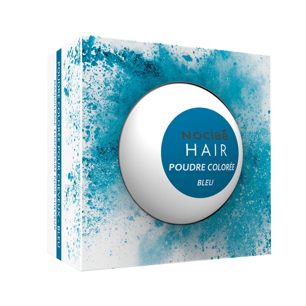 Poudre colorée Poudre colorée pour cheveux