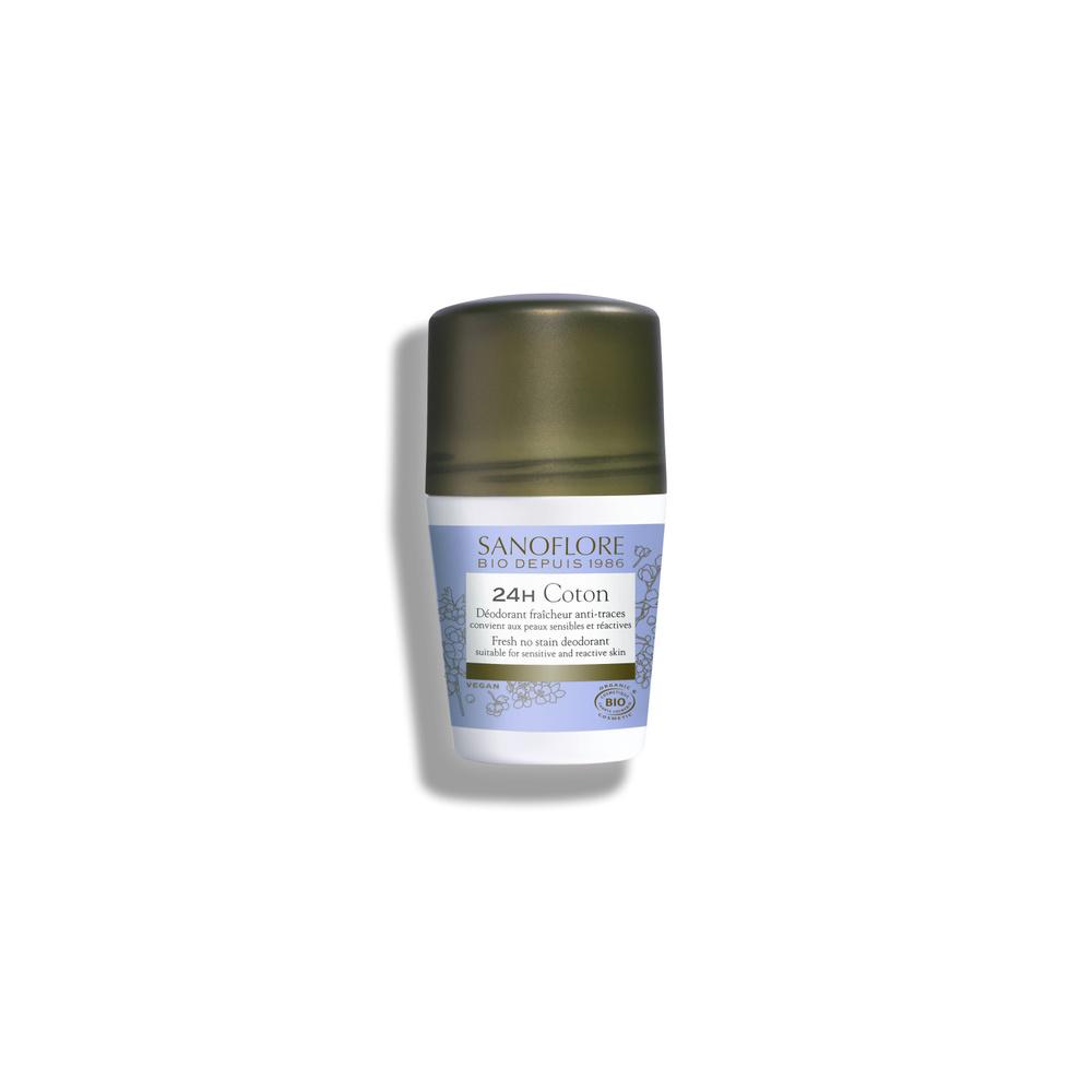 Pureté de lin Déodorant anti-traces efficacité 24h