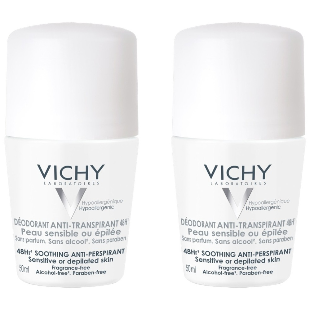 Lot*2 anti transpirant bille peau sensible Déodorant