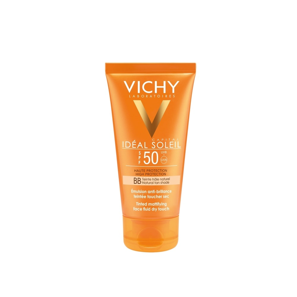 Ideal Soleil Bb Crème Onctueuse TeintéeSpf50 Protection visage