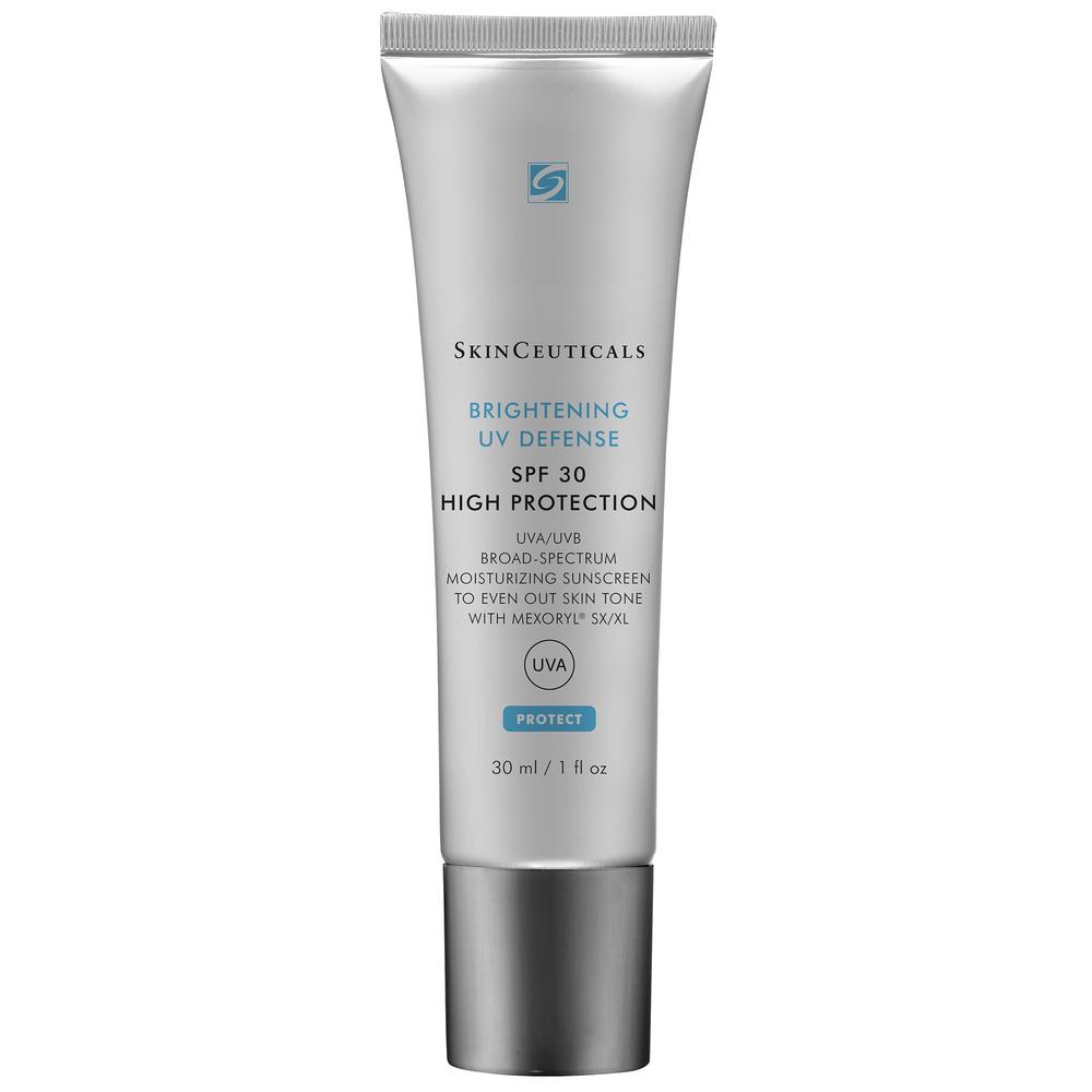 Brightening UV Defense SPF30 Protection visage