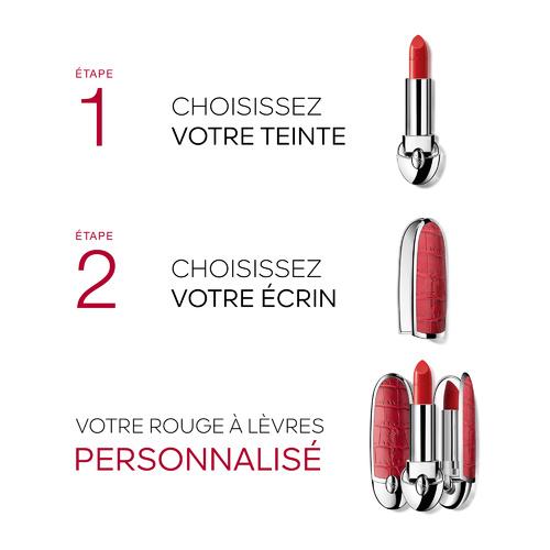 Rouge G de Guerlain La teinte de rouge à lèvres