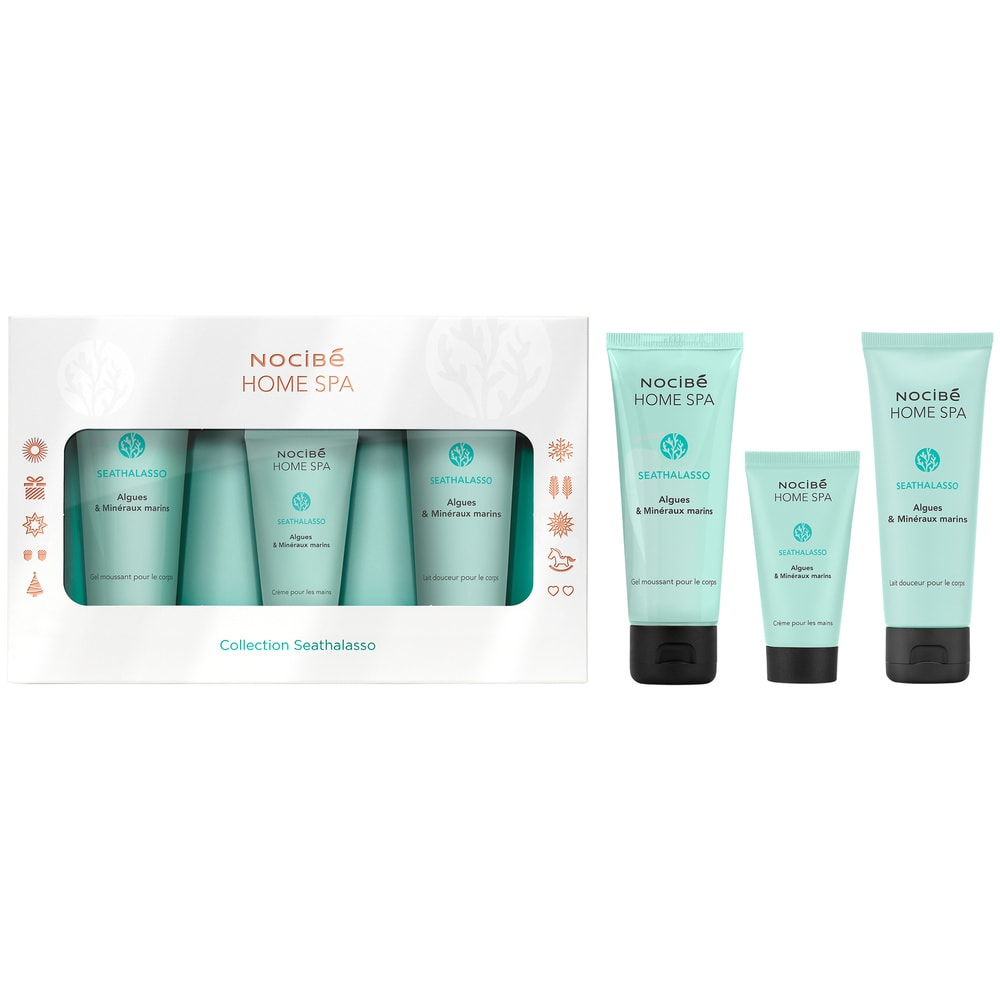 Nocibe Home Spa Coffret Collection Seathalasso