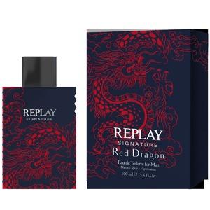 REPLAY SIGNATURE RED DRAGON POUR LUIEau de Toilette 100ml