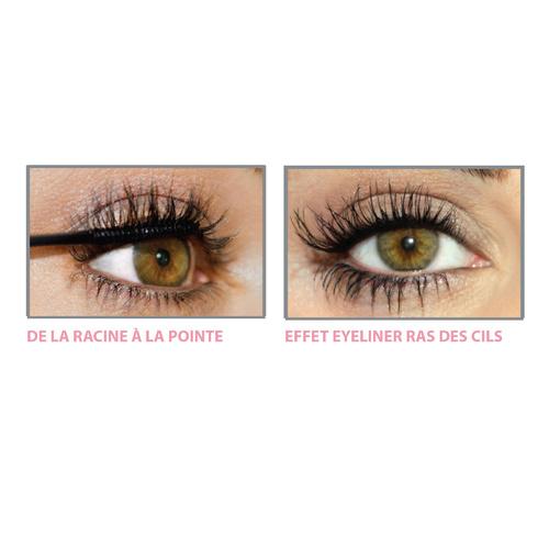 Tightline Waterproof™ 3-en-1 : Base Soin + Mascara + EyelinerNoir