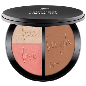 Your Most Beautiful You™ Palette 3-en-1 : Enlumineur, Blush, Bronzer