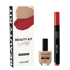 BEAUTY KIT BY NOEMIE MAKE UP TOUCHDuo Rouge à lèvres et Vernis à ongles