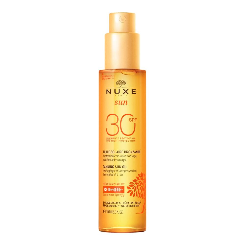 Huile Bronzante Haute Protection SPF30 Nuxe Sun