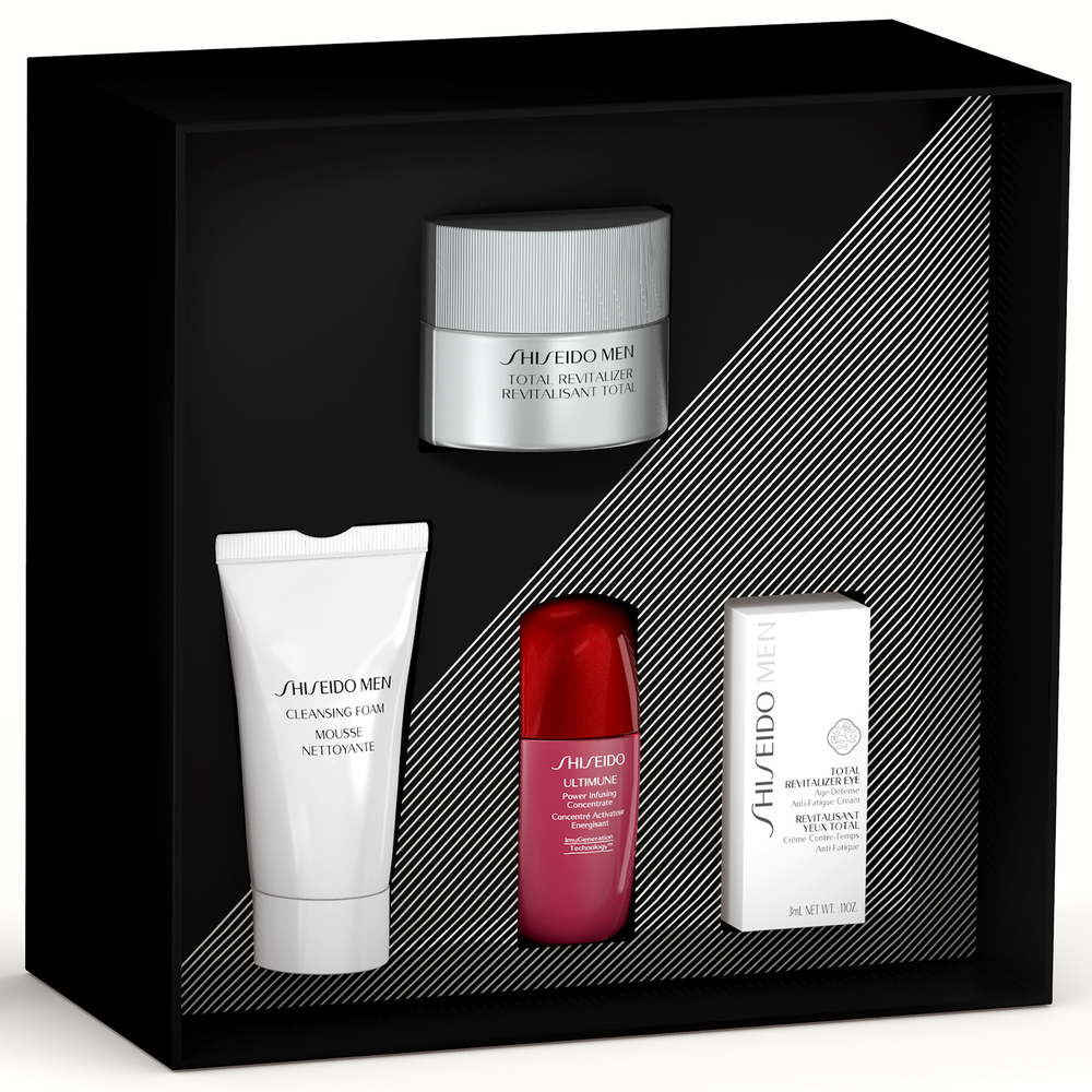 Holiday Kit Shiseido Men Revitalisant Total Crème 50ml