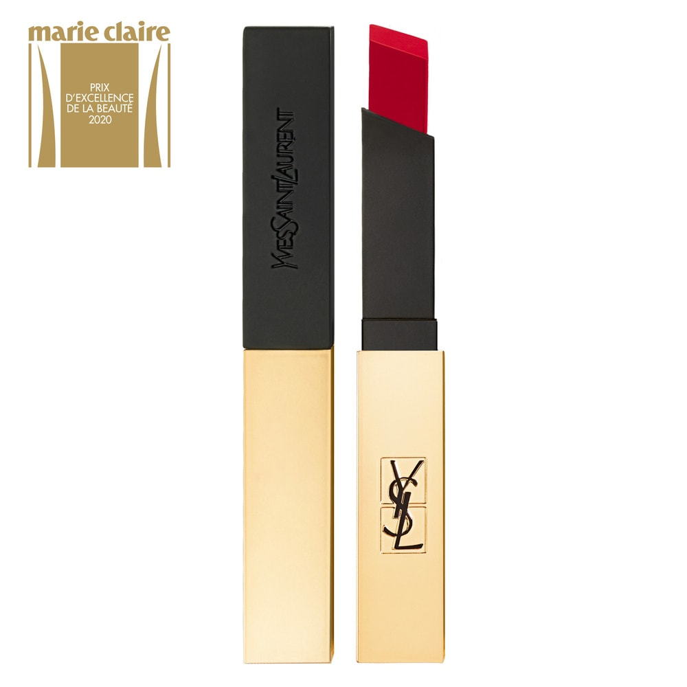 Yves Saint Laurent Rouge Pur Couture The Slim Rouge à Lèvres Longue Tenue Fini Mat 1 - Rouge Extravagant
