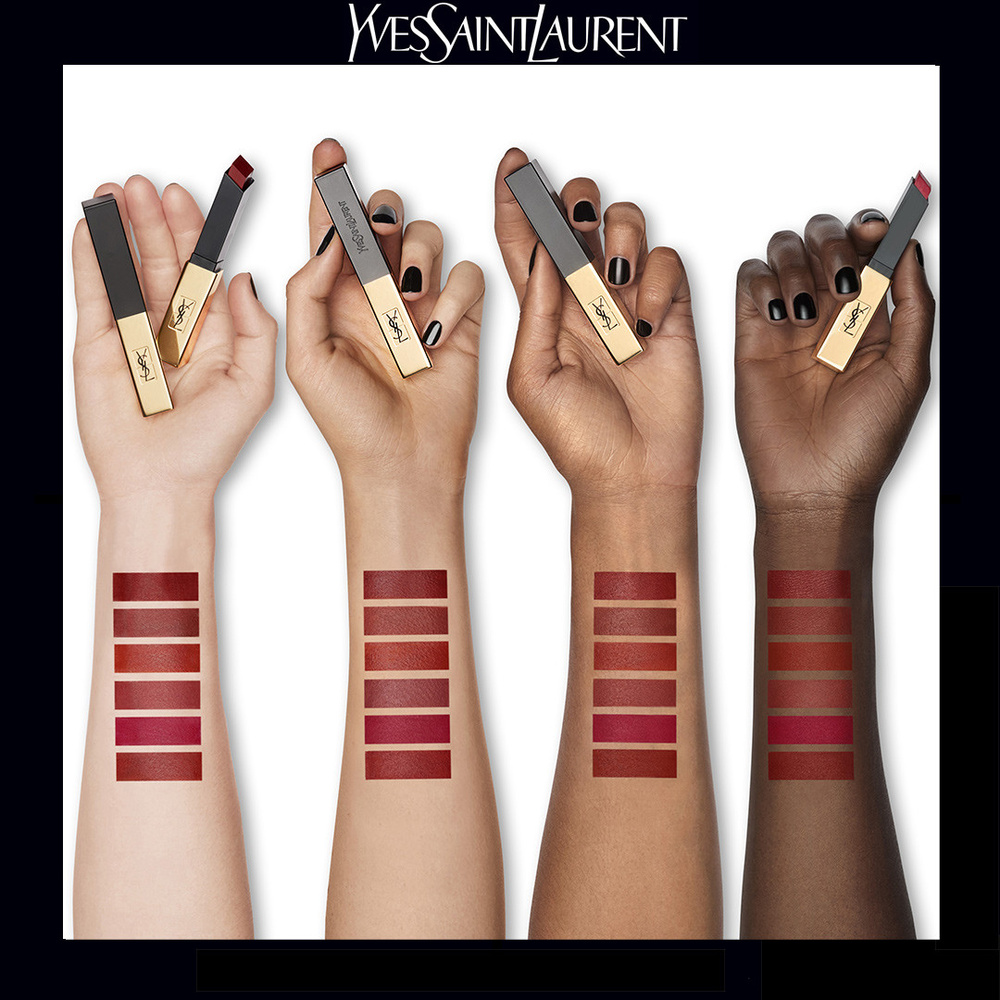 Yves Saint Laurent Rouge Pur Couture The Slim Rouge à lèvres mat 11 - Ambiguous Beige
