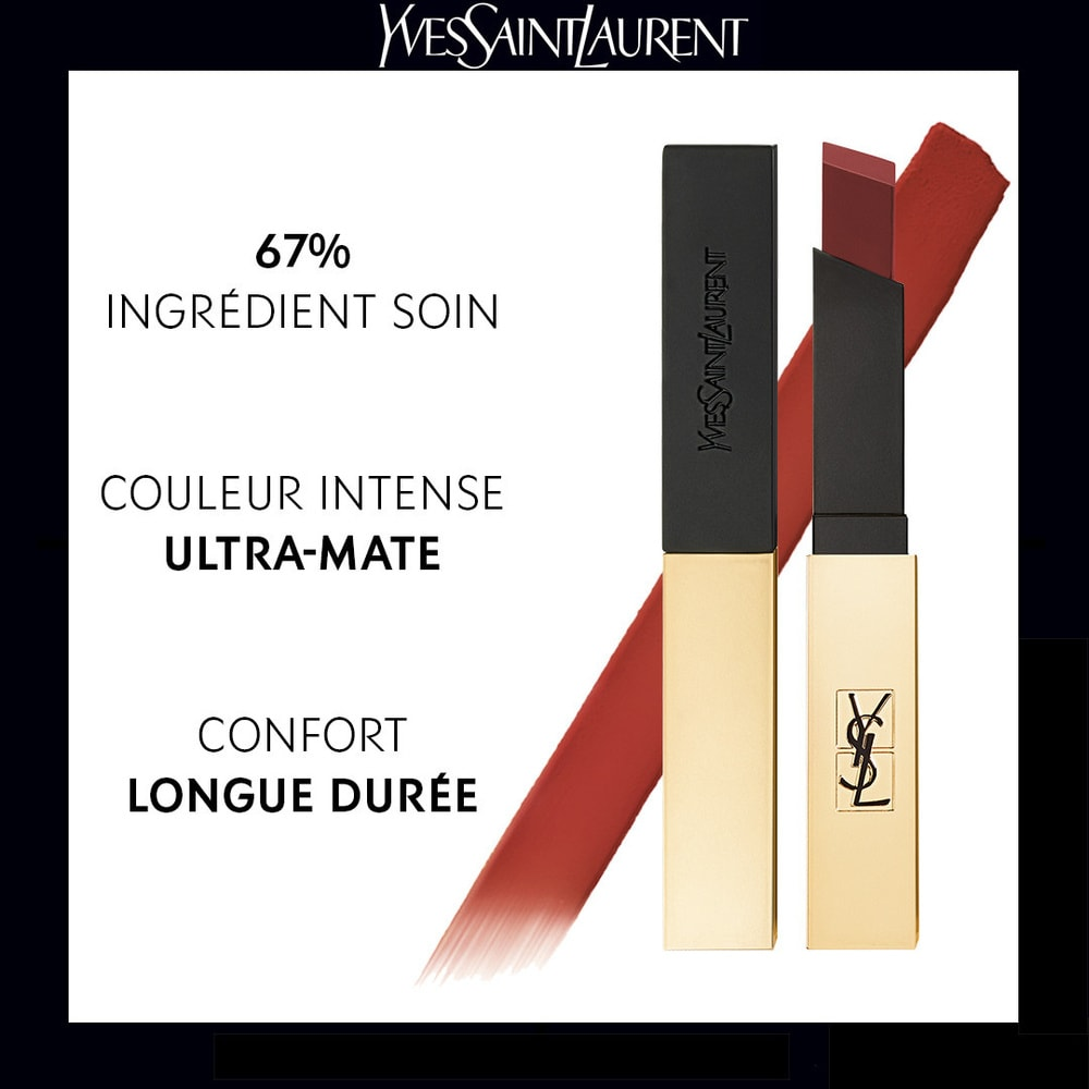 Yves Saint Laurent Rouge Pur Couture The Slim Rouge à lèvres mat 12 - Nu Incongru
