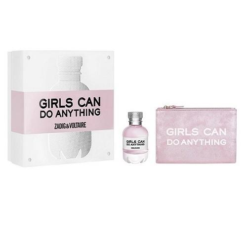 Coffret Girls Can Do Anything Eau de Parfum 50ml et sa pochette  rose métallisée Eau de Parfum