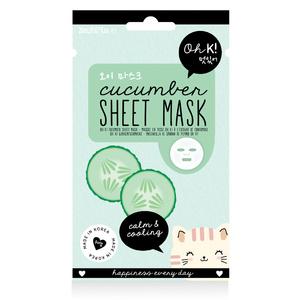 Oh K! Sheet Mask - Cucumber Face Mask/ Masque pour le  visage