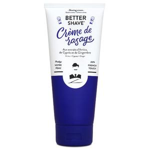 Better-Shave Crème à raserCrème de Rasage Protectrice Anti-Irritations