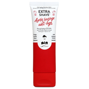 Extra-Shave Anti-Âge HommeBaume Après-Rasage Anti-âge Cicatrisant pour Hommes