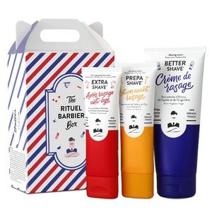 Coffret Rituel Barbier pour HommeCoffret Cadeau de Rasage pour Hommes