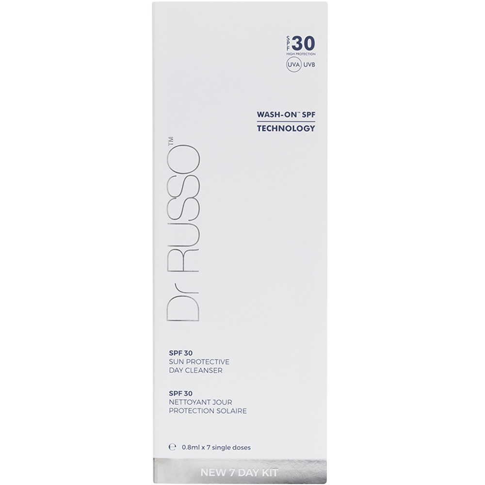 7 DAYS MONODOSE SUN PROTECTIVE DAY CLEANSER SPF 30