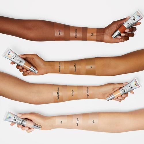 Your Skin But Better™ CC+™ Cream Oil Free Matte SPF 40 CC Crème Correctrice Haute Couvrance Anti-Pores Apparents