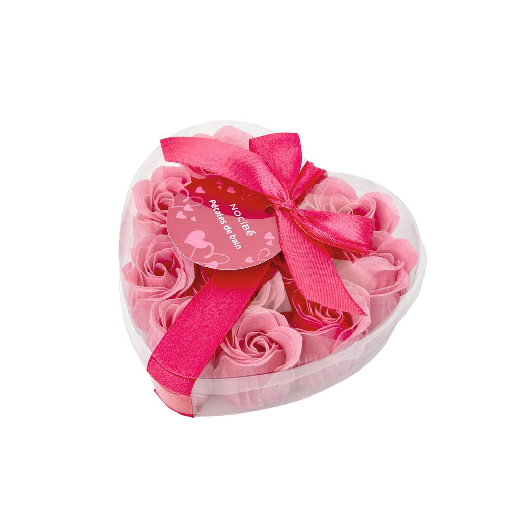 Coeur pétales de BainSaint Valentin