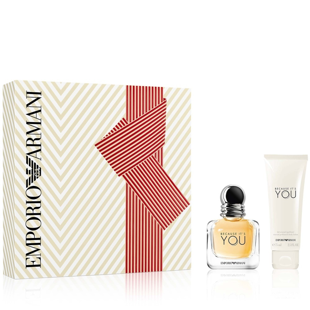 Giorgio Armani Emporio Armani Because Its You Coffret Eau De Parfum