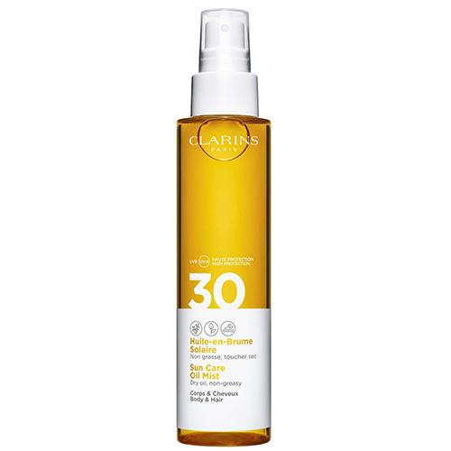 Huile-en-Brume Solaire Corps UVA/UVB 30 Crème solaire enrichie en antioxydants