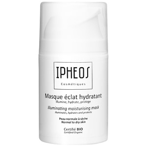 Masque éclat hydratantMasque bio, nourrissant, anti-oxydant, anti-âge, anti pollution