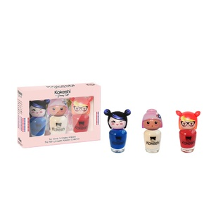 Kokeshi By JSCoffret Trio Vernis A Ongles