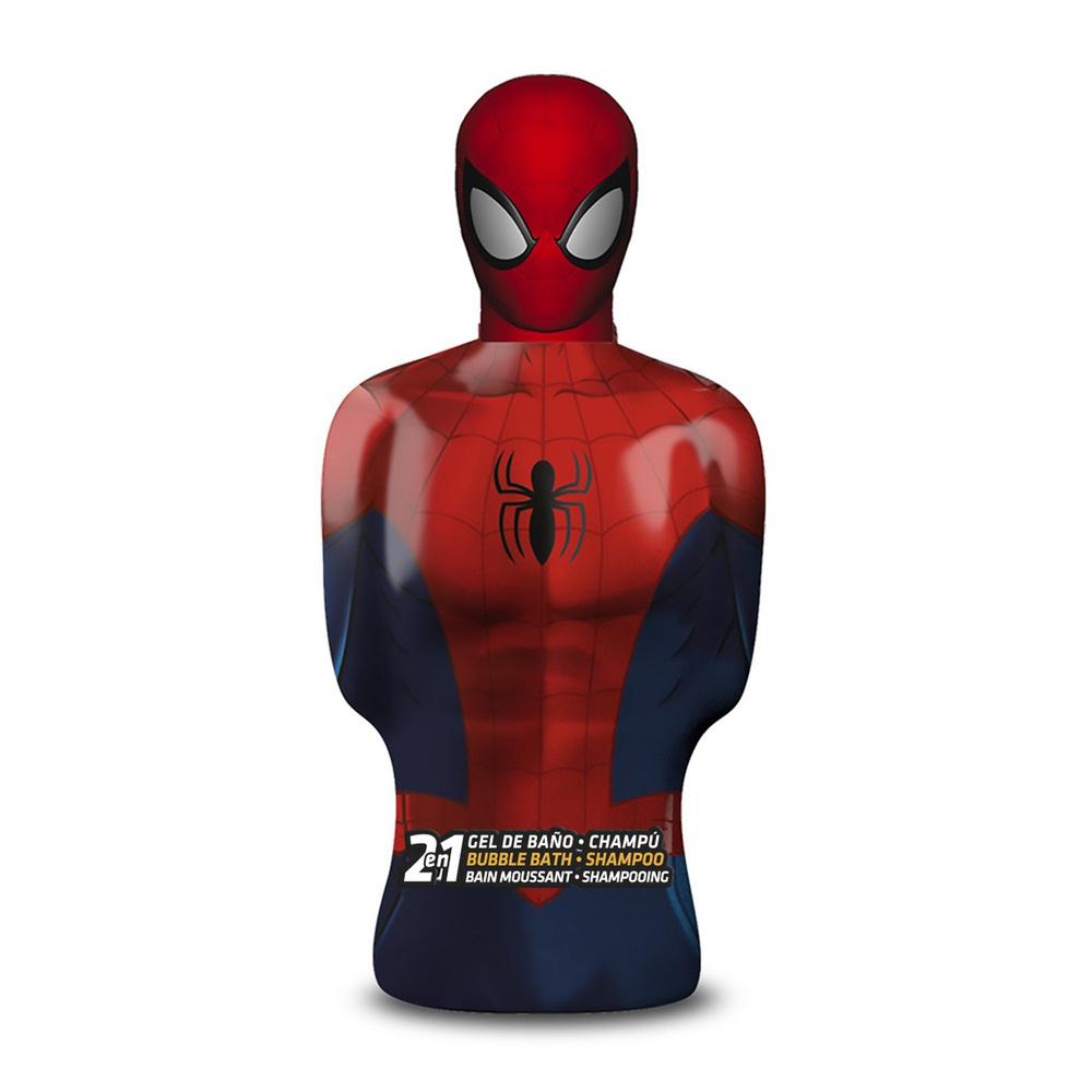 Spiderman Bain moussant shampooing 2 en 1